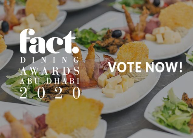2020 FACT Dining Awards Abu Dhabi – VOTE NOW!
