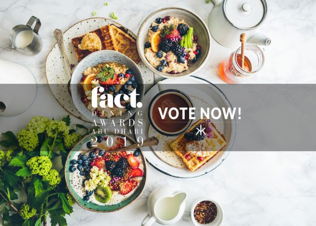 2019 FACT Dining Awards Abu Dhabi – VOTE NOW!