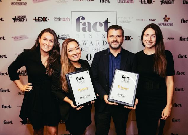2021 Dining Awards Abu Dhabi – Nominees