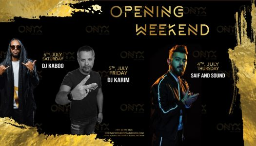 ONYX NIGHTCLUB OPENS IN ABU DHABI