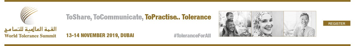 October – World Tolerance Summit