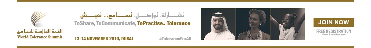 October – World Tolerance Summit