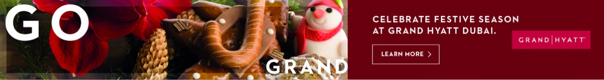 Grand Hyatt Dubai – December
