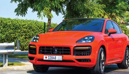 A LUXURY DRIVE: NEW PORSCHE CAYENNE COUPÉ
