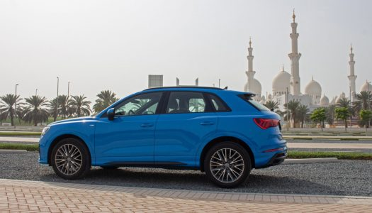Q THE SHOWSTOPPER: TEST DRIVING THE AUDI Q3