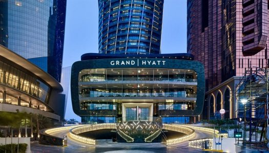 SKY HIGH HOSPITALITY AT THE GRAND HYATT ABU DHABI HOTEL & RESIDENCES EMIRATES PEARL