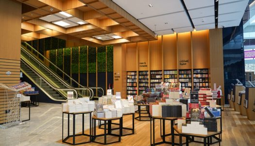 Books Kinokuniya is now open in Abu Dhabi