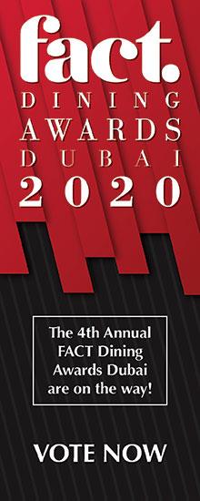 Fact Dining Awards Dubai 2020