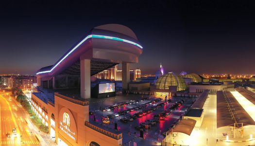 DRIVE-IN CINEMA OPENS AT MALL OF THE EMIRATES