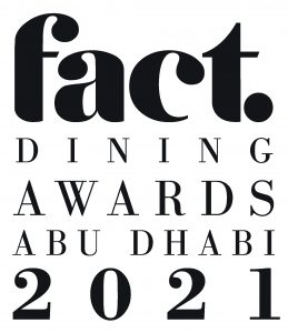 FACT Dining Awards Abu Dhabi 2021