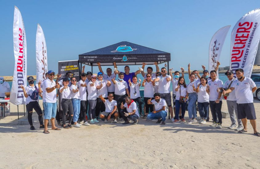 VOLUNTEERS MARK INTERNATIONAL COASTAL CLEANUP DAY WITH A GREAT INITIATIVE