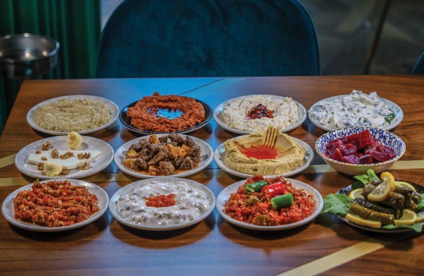 AN AUTHENTIC TASTE OF TURKEY